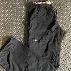 Koi scrub bottoms size S black